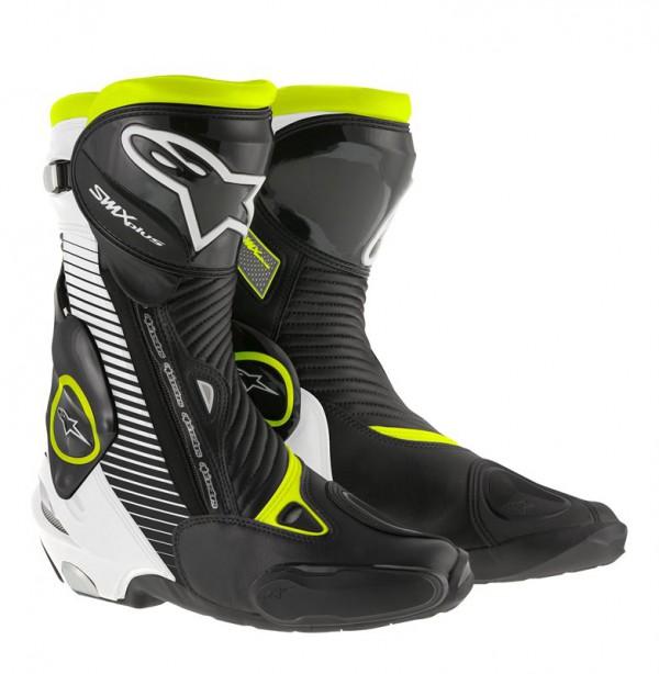 Alpinestars SMX Plus boots, zwart/fluor