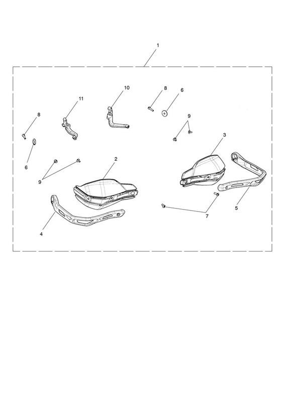 Handguards Kit