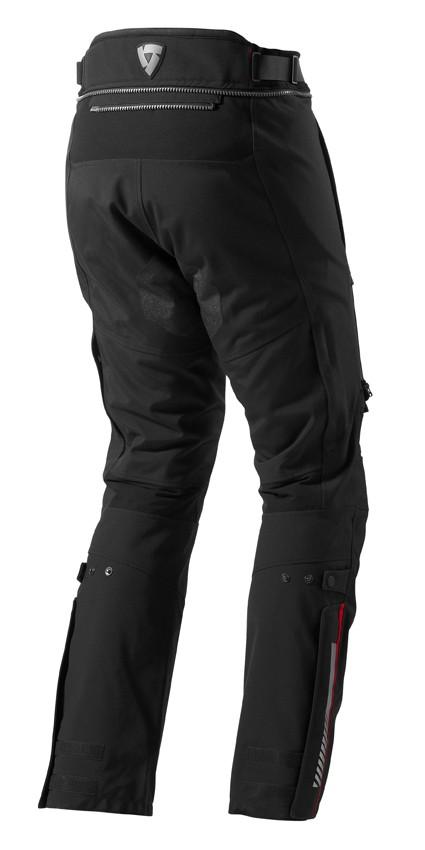 Pantalon Poseidon GTX Zwart Verkort, XXL