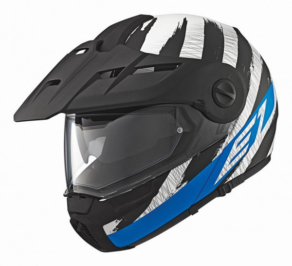 Schuberth E1 Hunter, blauw