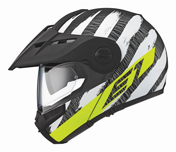 Schuberth E1 Hunter, fluor geel