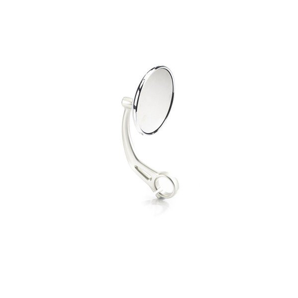 Bar End Mirrors, Clear