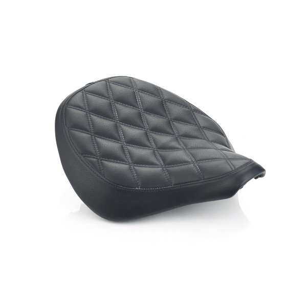 Seat, Rider, Black, Quilted