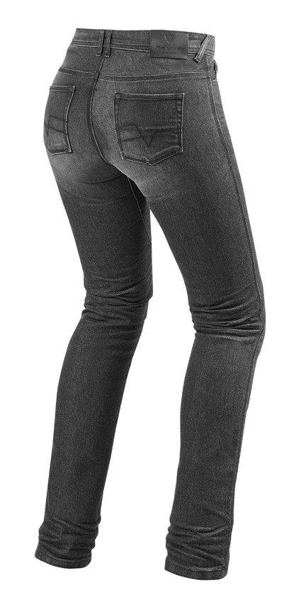 Rev'it! jeans Madison 2 ladies, grijs