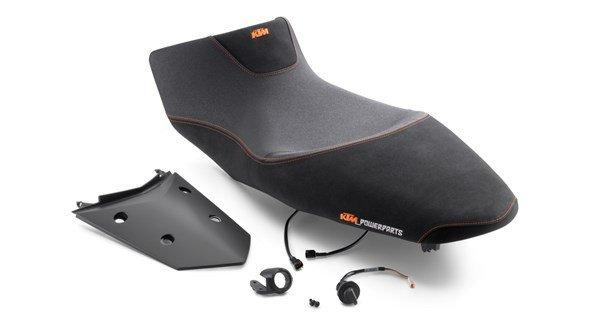 ergo seat heated single-piece