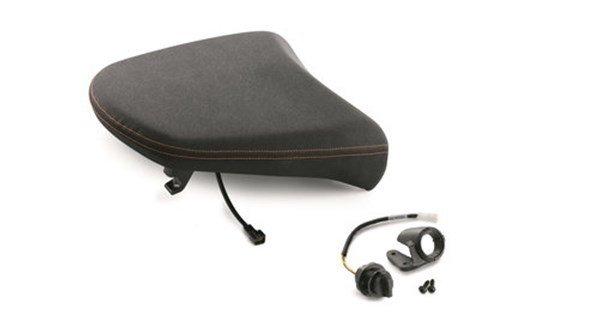 pillion ergo seat heated