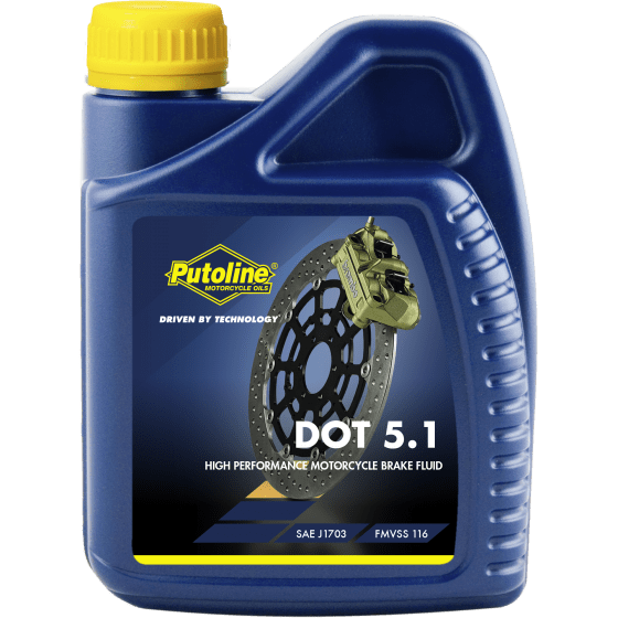 DOT 5.1 Brake Fluid 500 ml flacon