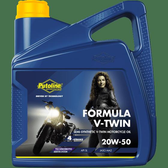 Formula V-Twin 20W-50 4 L can