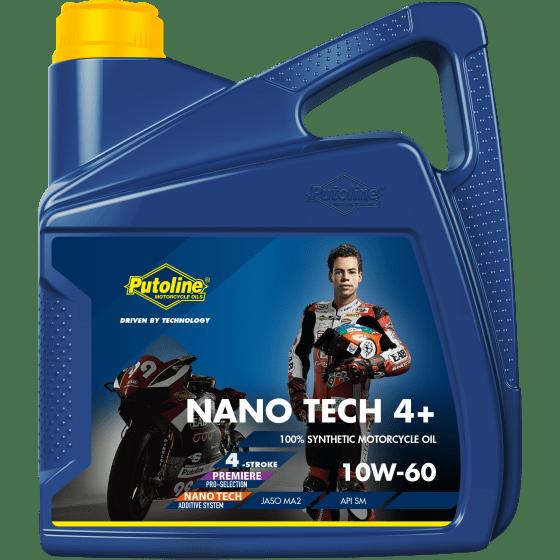 Nano Tech 4+ 10W-60 4 L can