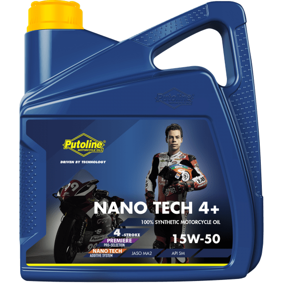 Nano Tech 4+ 15W-50 4 L can