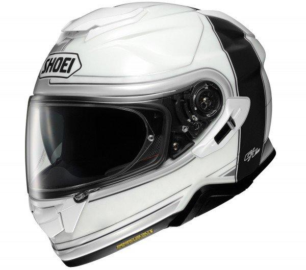Shoei GT-air II Crossbar, white/black