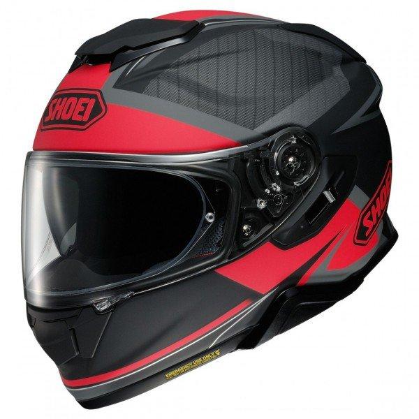 Shoei GT-air II Affair, black/red