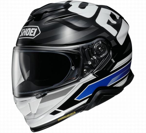 Shoei GT-air II Insignia, black/blue
