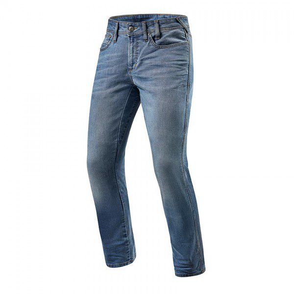 Rev'it! jeans Brentwood, licht blauw