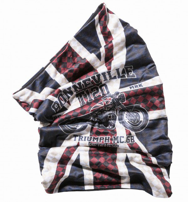 Union Jack Bonneville neck tube 2-zijdig