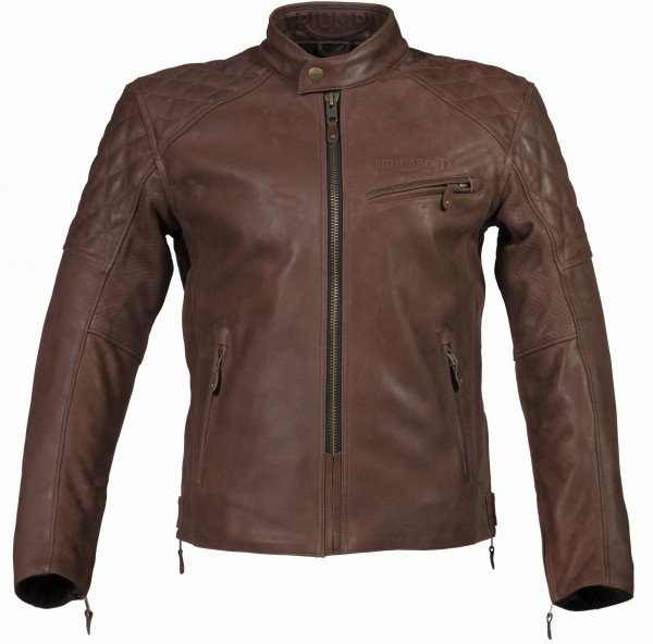 Triumph Arno quilted jacket bruin