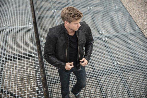 Triumph Arno quilted jacket zwart
