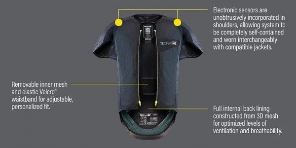 Alpinestars Tech-Air airbag vest, Street