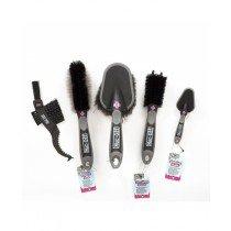 Borstelset Muc-Off, 5X Premium Brush Kit