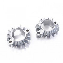 Finned Castings Kit, Chrome