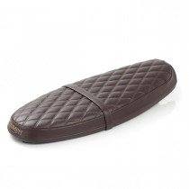Quilted Bench Seat Brown