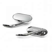 Oval Mirror Kit, Drilled