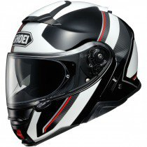 Shoei Neotec II Excursion, white/red