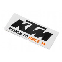 LOGO STICKER BLACK/WHITE