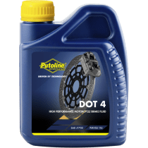 DOT 4 Brake Fluid 500 ml flacon