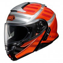Shoei Neotec II Splicer tc-8 orange