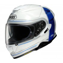 Shoei GT-air II Crossbar, white/blue