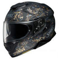 Shoei GT-air II Conjure, black/silver/gold