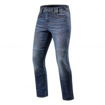 Rev'it! jeans Brentwood, medium blauw