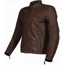 Arno quilted jacket bruin