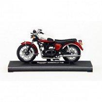 Triumph Bonneville T100 schaalmodel 1:18